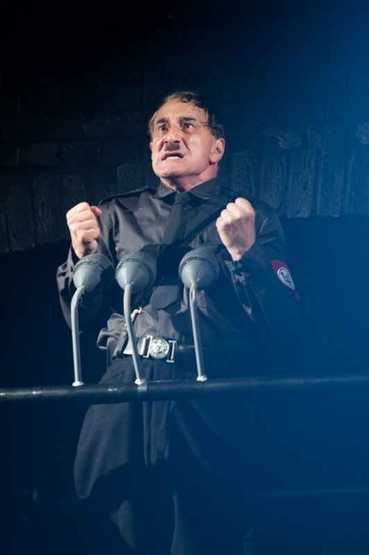 the resistible rise of arturo ui In sydney theatre company's 2018 production the resistible rise of arturo ui  supplied: stc/daniel boud topics: arts-and-entertainment,.