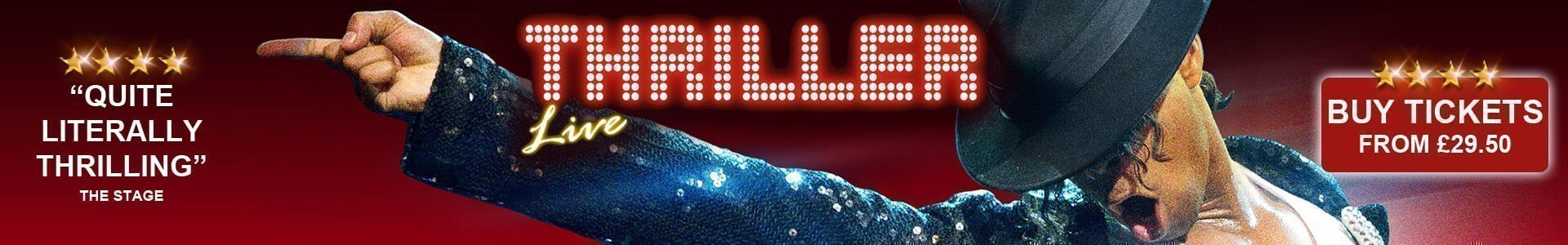 Thriller Live Tickets - London
